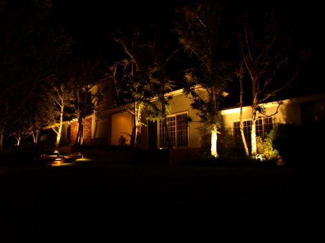 Conejo Valley Lighting Dramatic  Outdoor Lighting Lights